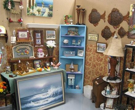 Booth at Peddler's Market