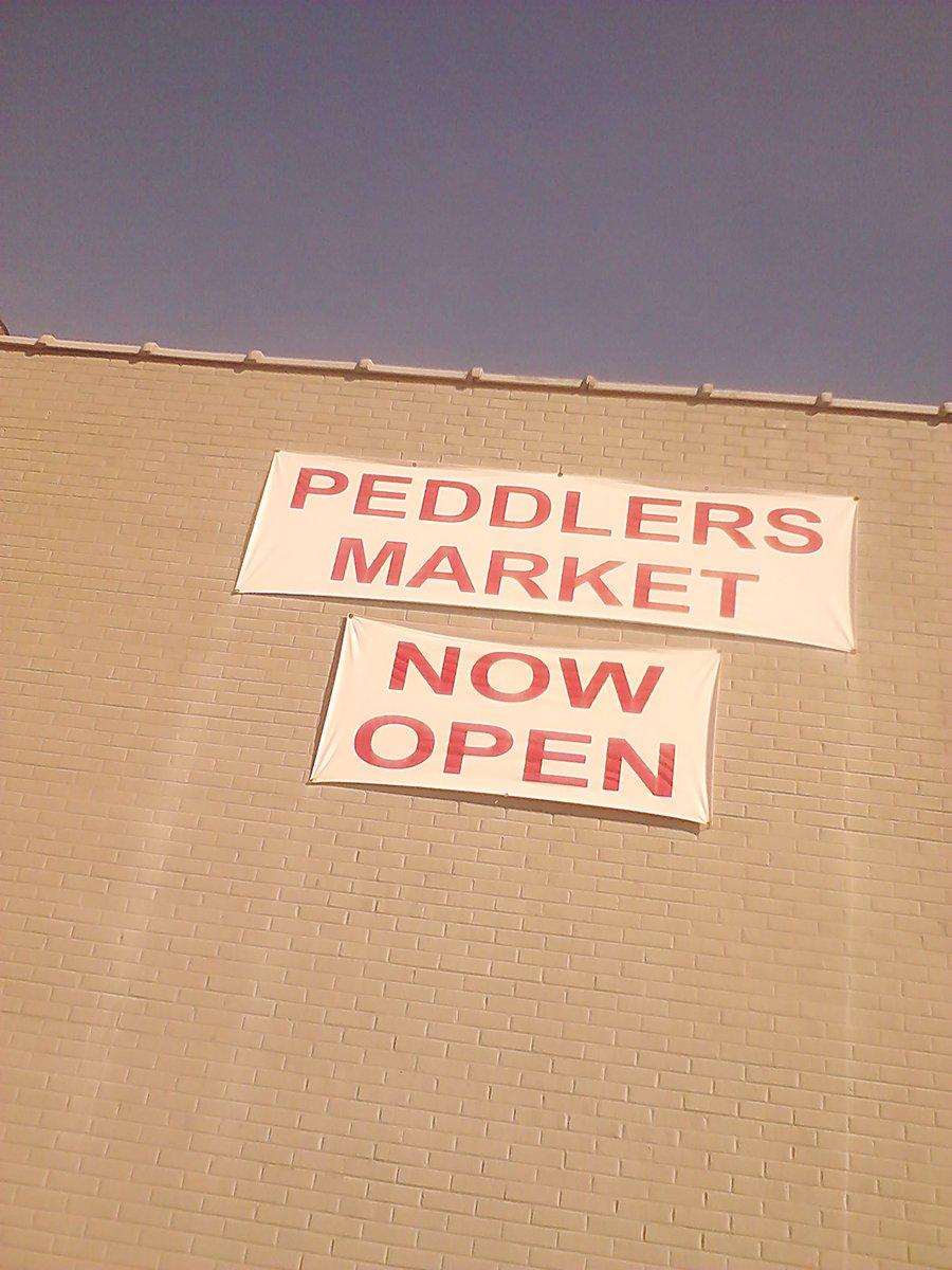 Peddler's Market Banner