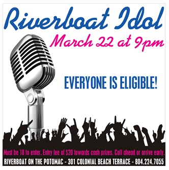 Riverboat Idol competition March 22, 2014