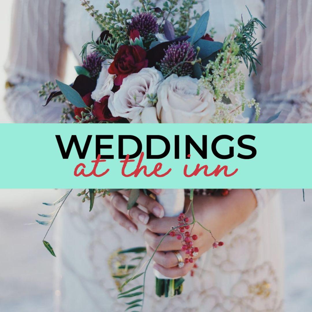 Riverview Inn wedding promo photo