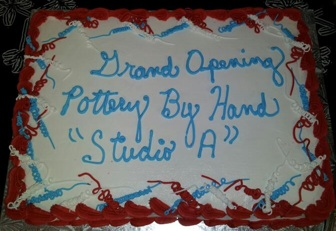 Studio A Grand Opening cake