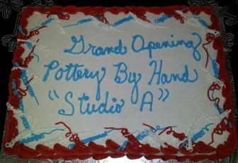 Studio A Grand Opening cake