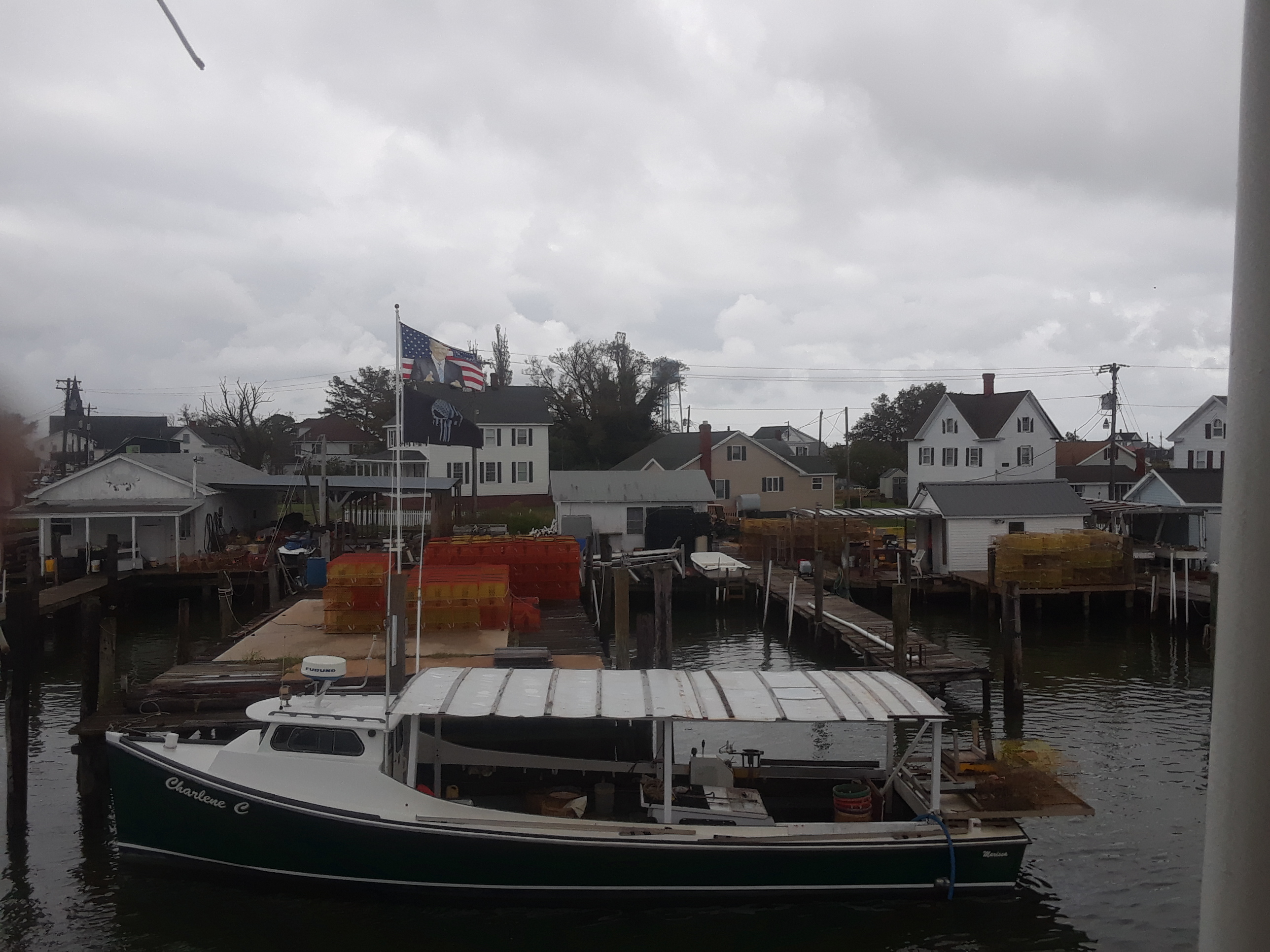 Tangier Island boats and docks
