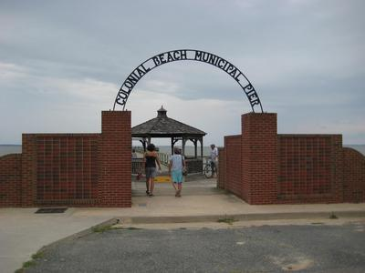 The pier at colonial beach for Fishing spots in virginia beach