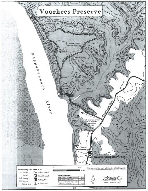 voorhees trail map