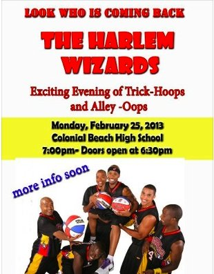Harlem Wizards Basketball Game