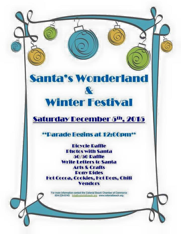 2015 Winter Festival Flyer