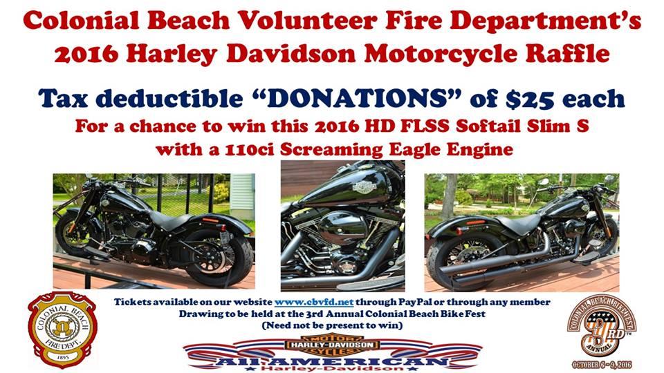 bike raffle flyer