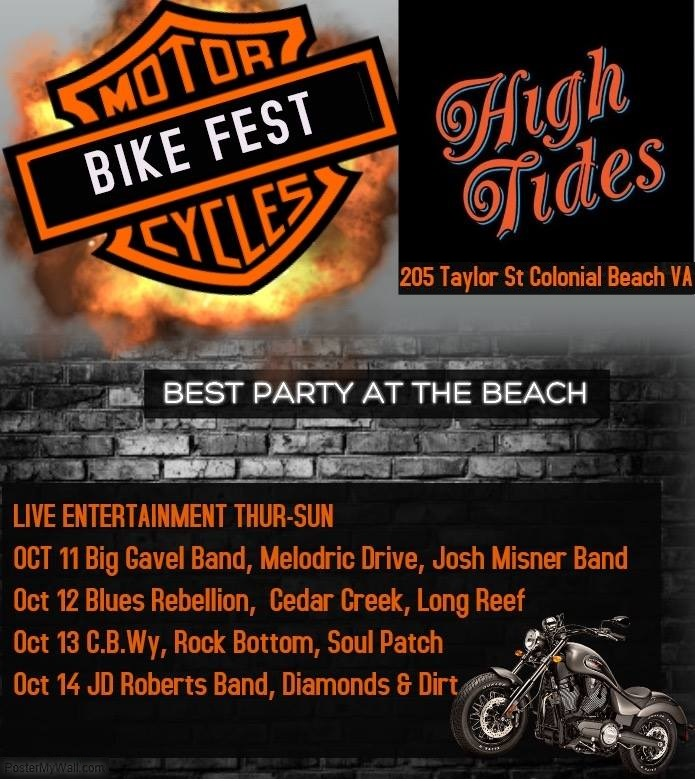 List of bands playing at High Tides