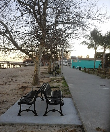 New Benches on Boardwalk
