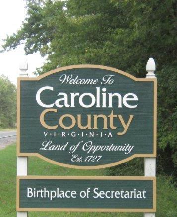 Secretariat Birthplace Sign