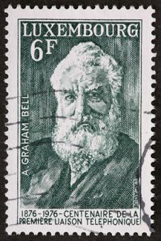 Alexander Graham Bell postage stamp