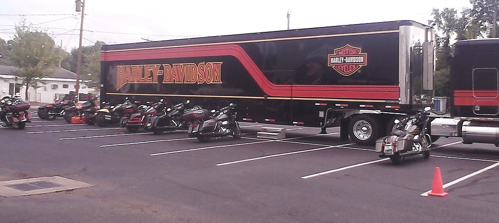 Harley Demo Fleet Semi