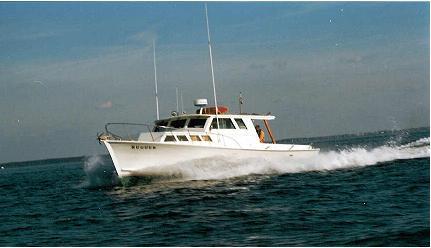 Hugger Charter Fishing Boat
