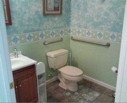 Restroom at The Bonus Room