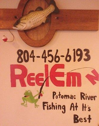 Reel Em In Charter Fishing flyer