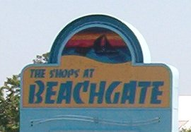 Beachgate Shopping center in Colonial Beach