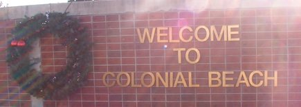 welcome to Colonial Beach
