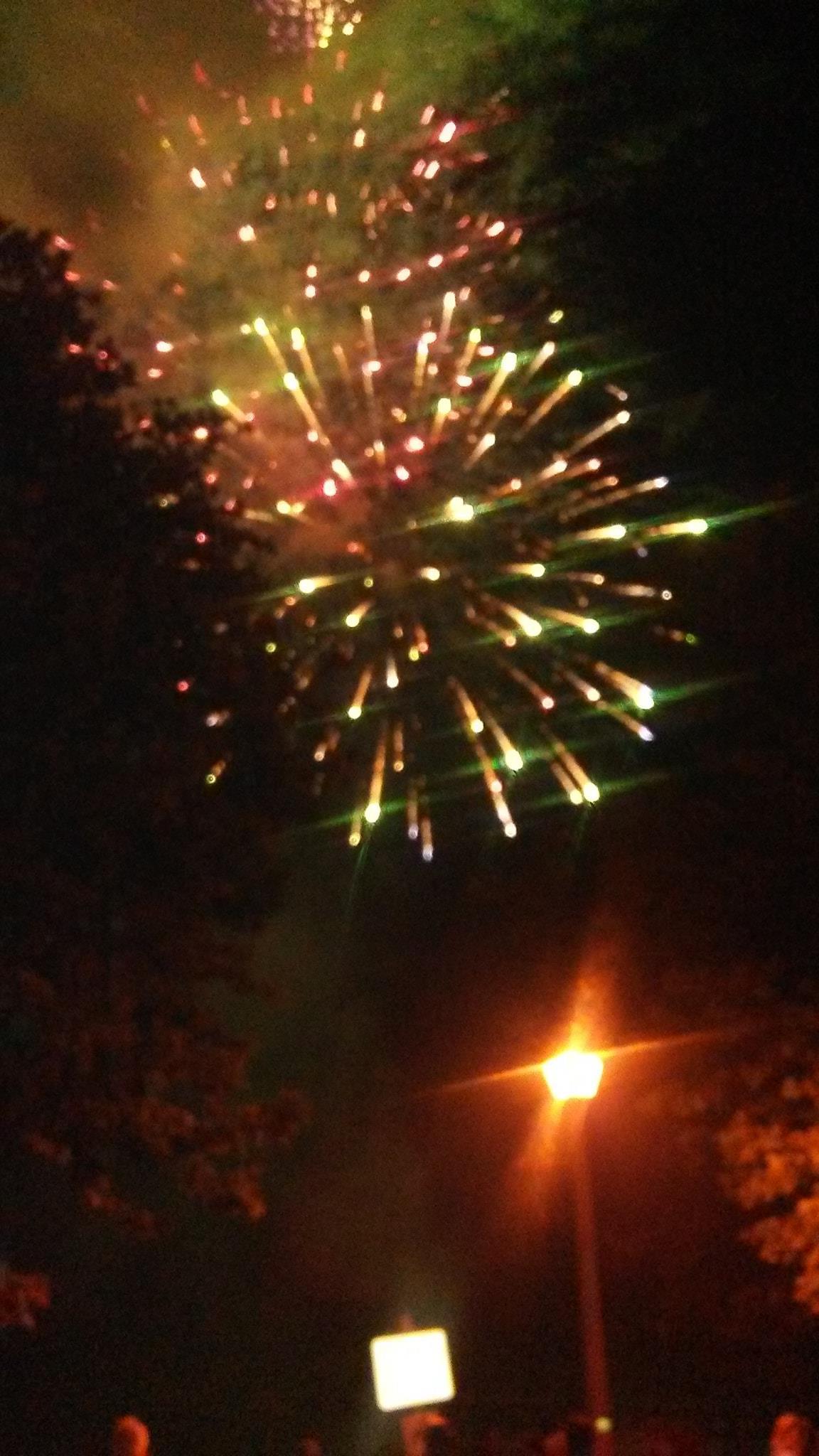 Fireworks on Irving Ave.