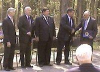 Speakers at James Monroe Birthday Celebration