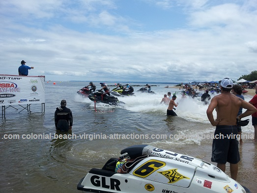 Colonial Beach Jetski Race July 22, 2012