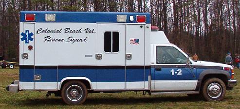 Rescue Squad ambulance