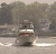 trojan f32 boat