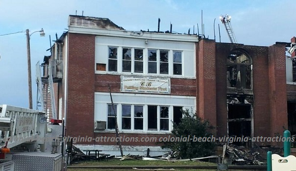 Colonial Beach School Fire