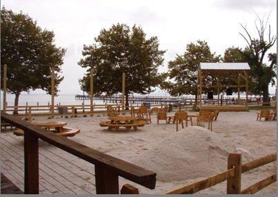 Water Views from the Tiki Bar in Colonial Beach, Virginia