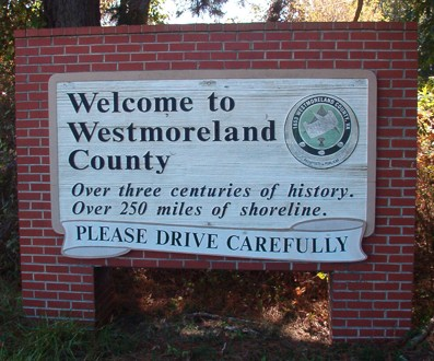 Colonial Beach is in Westmoreland County