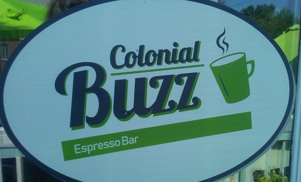 colonial buzz espresso bar logo