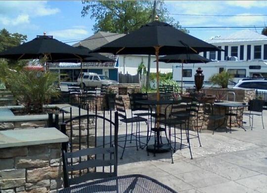Patio area at Espresso Station