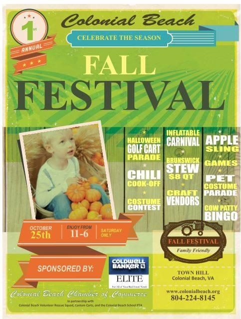 Fall Festival 2014 flyer