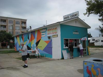 Colonial Beach Food Court Building