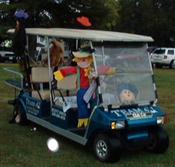 Golf Cart Parade