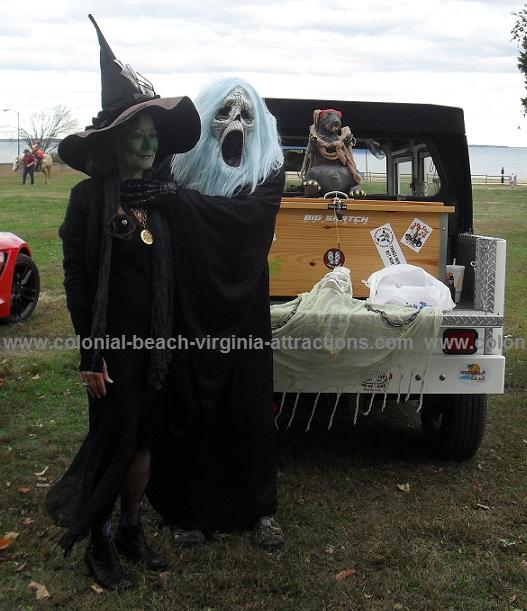 Golf Cart Parade Characters