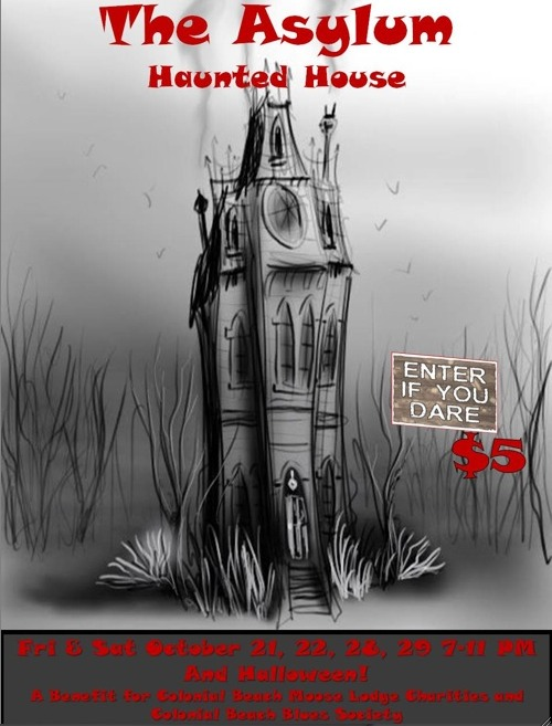 Haunted House poster from 2011