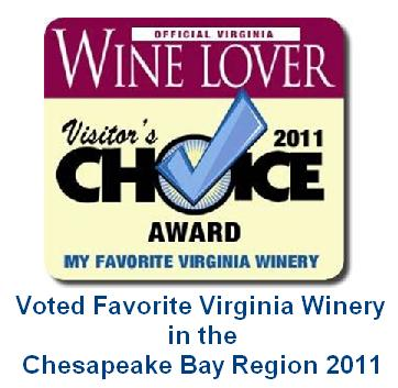 Visitors Choice Favorite Winery 2011