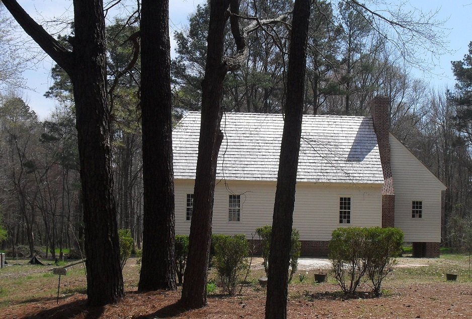 Replica House at James Monroe Birthplace site