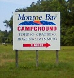 Campgrounds in Colonial Beach