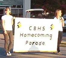 Homecoming Parade Banner