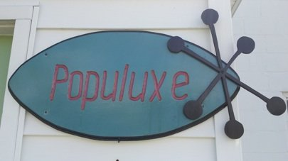 Populuxe sign
