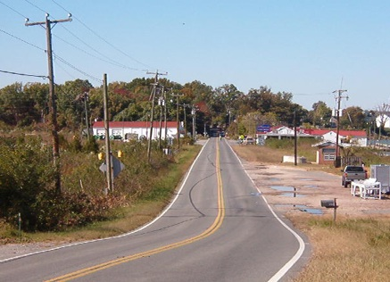 Route 205 in Potomac Beach