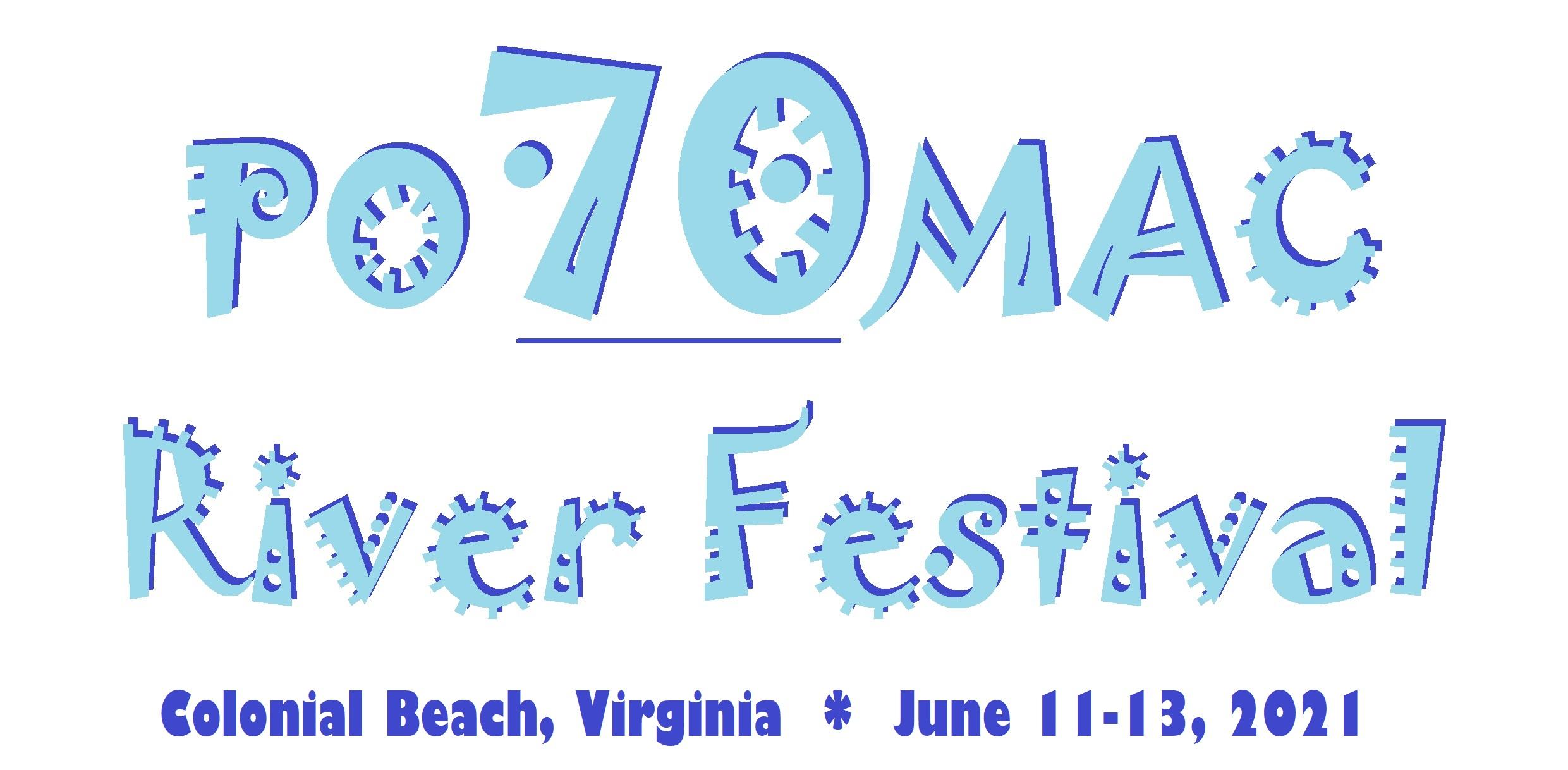 2021 Potomac River Festival Logo