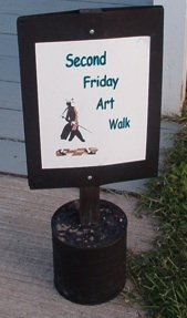 2nd friday Art Walk in Colonial Beach