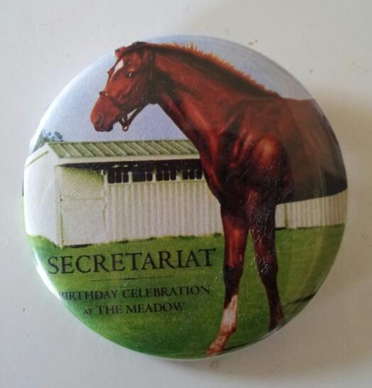 Secretariat Button
