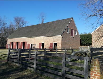Carriage House and Stables at Stratford Hall