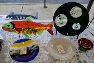 Creations by Bee's Stained Glass at Studio A