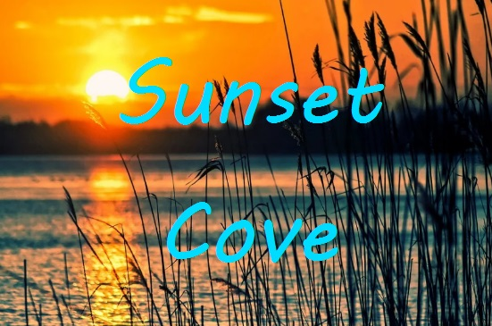 sunset cove sign