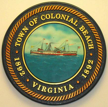 The Seal of the Town of Colonial Beach